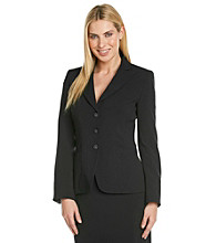 T Tahari® Long Sleeve Notch Collar Connor Jacket