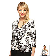 Alex Evenings® Floral Printed Twinset