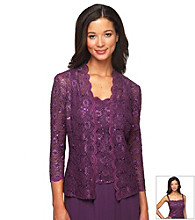 Alex Evenings® Lace Twinset