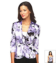 Alex Evenings® Floral Twinset