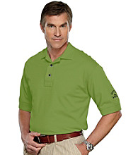 Cutter & Buck® Men's Big & Tall Gallery Green Short Sleeve Tour Logo Polo