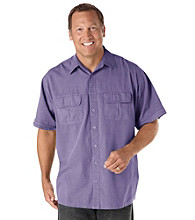 Canyon Ridge® Men's Big & Tall Short Sleeve Co-Pilot Woven