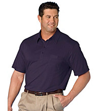 Canyon Ridge® Men's Big & Tall Short Sleeve Classic Golf Shirt