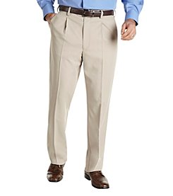 Gold Series™ Men's Big & Tall Khaki Continuous Comfort Sorbtek Pleated Pant