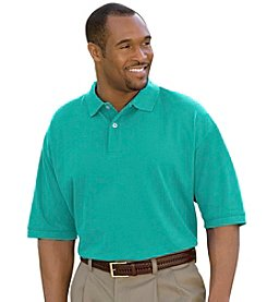 Harbor Bay® Men's Big & Tall Pique Polo