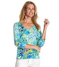 Ruby Rd.® Petites' Printed Top
