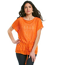 Ruby Rd.® Petites' Crochet Top