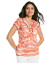 Ruby Rd.® Petites' Burnout Top