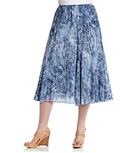 Ruby Rd.® Plus Size Long Skirt