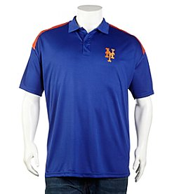 New York Mets Men's Big & Tall Short Sleeve Colorblock Polo