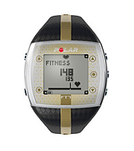 Polar FT7F Black/Gold Female Heart Rate Monitor