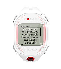 Polar RX3F White SD Female Run Training Watch