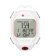 Polar RCX3F White GPS Female Heart Rate Monitor