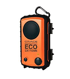 Eco Extreme Waterproof Speaker Case for iPhone® Cell Phone, and MP3 Players