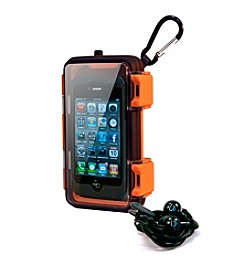 Eco Pod Waterproof Case for iPhone® Android, and MP3 Players; with Ecoxbud Earphones