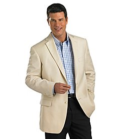Oak Hill® Men's Big & Tall Jacket-Relaxer Woven Sportcoat