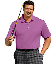 Reebok® Men's Big & Tall Short Sleeve Play Dry® Solid Golf Polo