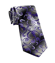 Van Heusen® Men's Big & Tall Purple United Paisley Silk Tie