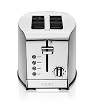 Krups® Stainless Steel 2-Slice Toaster