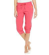 Sleep Riot Knit Capris - Pink