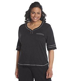 KN Karen Neuburger Plus Size Knit Top