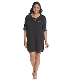 KN Karen Neuburger Plus Size Knit Sleepshirt