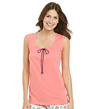 KN Karen Neuburger Knit Tank Top - Coral