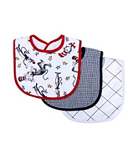 Trend Lab Dr. Seuss Cat in the Hat 3 Pack Bib Set