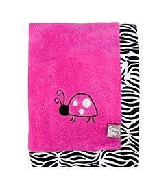 Trend Lab Framed Zahara Zebra Receiving Blanket