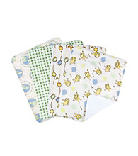 Trend Lab Dr. Seuss the Lorax 4 Pack Burp Cloth Set