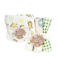Trend Lab Dr. Seuss the Lorax Hooded Towel and Wash Cloth Set