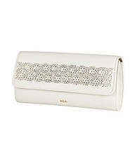 Lauren Ralph Lauren Chantilly Leather Envelope Clutch