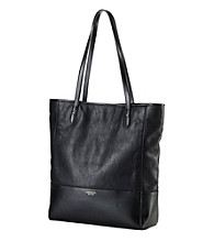Lauren Ralph Lauren Leather Harrow Lizard Tote