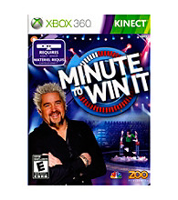 Xbox 360® Kinect Minute To Win It