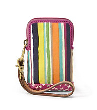Fossil® Bright Stripe Key-Per Carry All