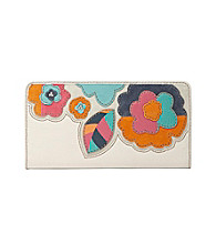 Fossil® Hunter Floral Zip Clutch
