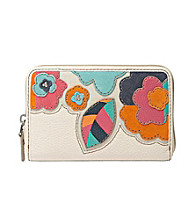 Fossil® Hunter Floral Zip Multi