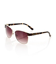 Calvin Klein Chocolate Cat Eye Sunglasses