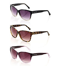 Calvin Klein Upsweep Cat Eye Sunglasses