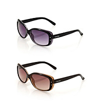 Calvin Klein Plastic Rectangle Sunglasses