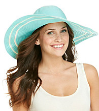 Calvin Klein Lurex Ribbon Sun Hat