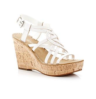 GUESS Women's Shoes, Yarkena Platform Wedge Sandals Women's Shoes