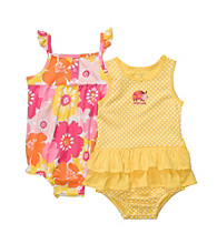 Carter's® Baby Girls' Yellow Floral 2-pk. Sunsuit and Dress