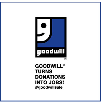 Goodwill® Donation for a 25% Savings Off Your Next Purchase