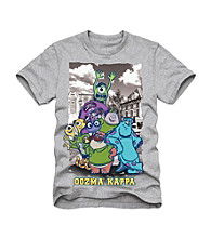 Disney® Boys' 4-7 Grey Short Sleeve Monsters University Oozma Kappa Tee