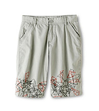 DKNY® Boys' 8-20 Grey Pattern Shorts