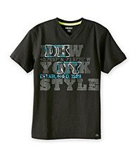 DKNY® Boys' 8-20 Grey Short Sleeve City Tee