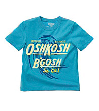 OshKosh B'Gosh® Boys' 4-7 Blue Short Sleeve So Cal Tee