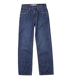 Levi's® 550™ Boys' 8-20 plus Husky Sizes Relaxed Denim Blue Jeans