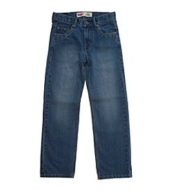 Levi's® 550™ Boys' 8-20 Plus Husky Sizes Relaxed Denim Blue Jeans For Boys - Catapult